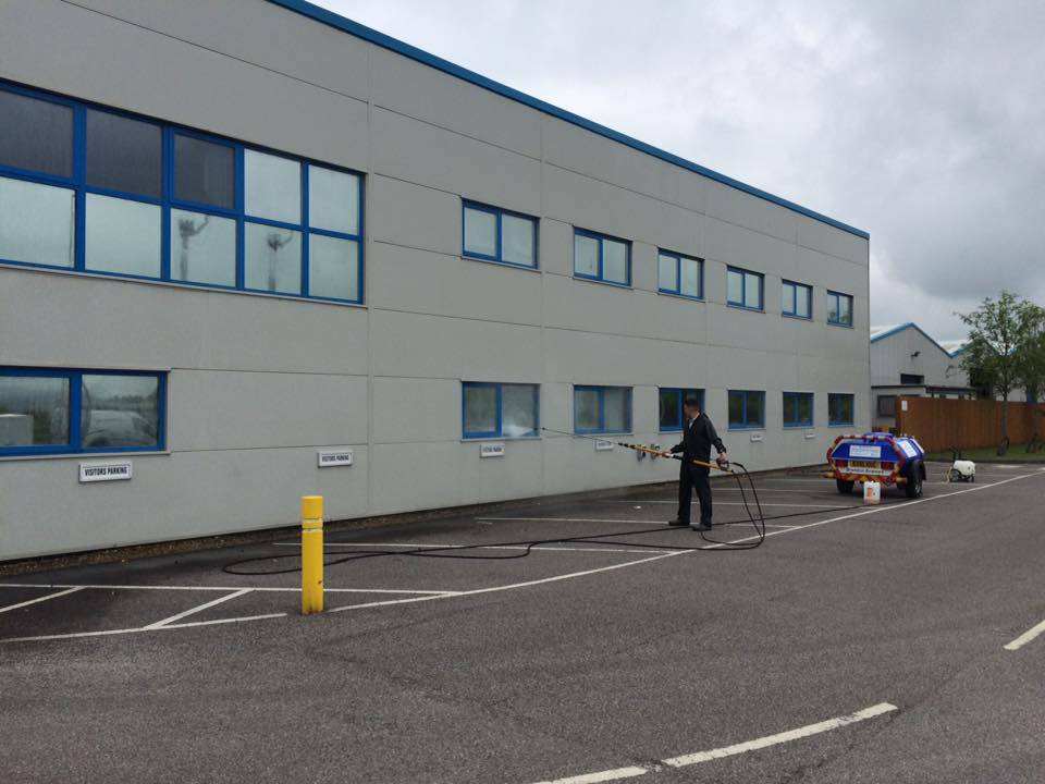 Llanelli Cleaners Comserve Ltd Exterior cleaning