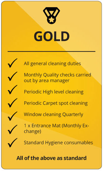 Comserve Ltd Gold Cleaning Package