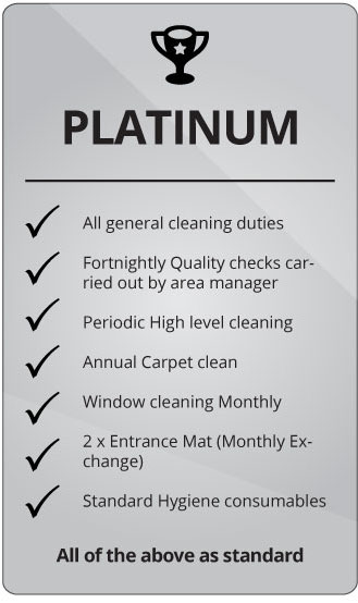 Comserve Ltd Platinum Cleaning Package