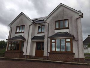 House Pressure Washing Carmarthenshire Comserve Ltd Cleaning Company Carmarthenshire- Before