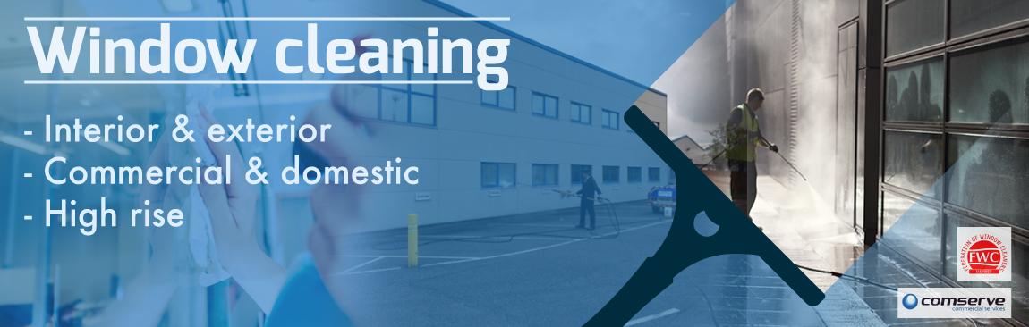 Carmarthen Window Cleaners Comserve Ltd Commercial