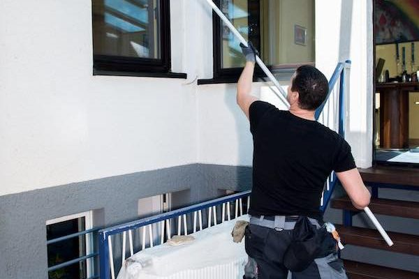 Llanelli Window Cleaners Comserve Ltd High Rise Window Cleaning Llanelli