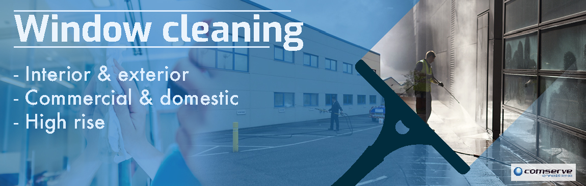 Comserve Ltd - Window Commercial Cleaning - Carmarthenshire - Swansea - Llanelli - Ammanford