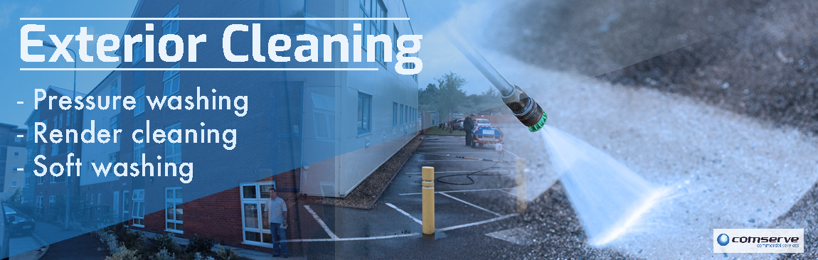 Comserve Ltd - Exterior Cleaning - Carmarthenshire - Swansea - Llanelli - Ammanford